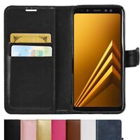 NEW Leather Wallet Flip Case PU Magnetic Book Cover for Samsung Galaxy J5 2016