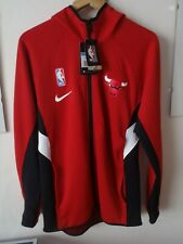 NIKE CHICAGO BULLS NBA THERMAFLEX SHOWTIME FZ HOODIE SIZE M