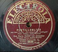 """EVA MARIA SIEFERT - Postillionlied / Lied der Nachtigall - Electrola  10"""" 78 RPM"""