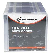 Innovera Slim Cd/dvd Case - Jewel Casepolystyrene - Clear (85800)