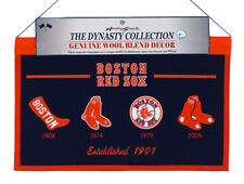Boston Red Sox MLB Wool Hanging 22x14 Heritage Banner