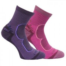 REGATTA WOMENS ACTIVE LIFESTYLE SOCKS 2PACK RRP£20 SALE PRICE £10 TRACKED DEL
