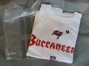 Tampa Bay Buccaneers T-Shirt Cotton Official NFL Bucs  Men's Adult Medium