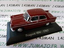 voiture 1/43 RBA Italie IXO : PEUGEOT 404 1965