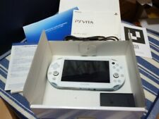Sony ps vita pch-2000 wifi za14 lite blue white Japan used Initialization