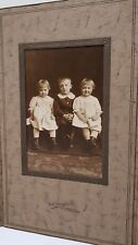 Victorian Children Cabinet Photo Saint Paul Minnesota Kesting Twin Girls