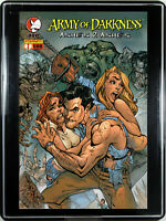 ARMY OF DARKNESS: ASHES 2 ASHES #1 (J. SCOTT CAMPBELL) w/FRAME ~ Home Decor Art