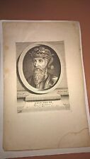 Antique Vintage Engraving of Edouard III 18th/19th Century