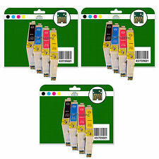 Any 12 Ink Cartridges for Epson R240 R245 RX420 RX425 RX520 non-OEM E551-4