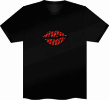 Sound Music New LED light up t shirt sound activated