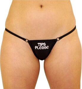 By Zoe..Tips Pls Stripper Midi / Broad  Thong/ G string