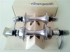 NOS CAMPAGNOLO 1983 TRIOMPHE HUBSET SERIES 32H ROAD BIKE VINTAGE HUBS *RARE