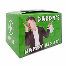 DADDY'S NAPPY AID KIT - New Dad Gift / Baby Shower Gift - New Parent Gift