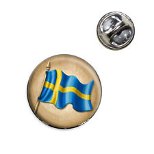 Vintage Sweden Flag - Swedish Lapel Hat Tie Pin Tack