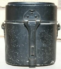 1941 GERMANY MILITARY EARLY BLACK MESS KIT HRE / 41 ORIGINAL WW 2 GOOD CONDITION