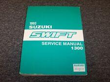 1993 Suzuki Swift Hatchback Workshop Shop Service Repair Manual GA GS GT 1.3L