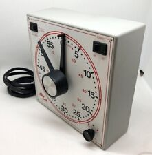 Dimco-Gray Gralab Darkroom Timer Model 167 w Alarm Turn on-Turn off! Clean!