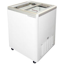 Commercial Flat Lid Display Freezer, w/Sliding Glass [Euro-5]