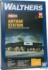 Walthers #933-3038  Amtrak(R) Station  - Building kit HO Scale :1:87 INC AUSPOST