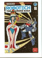 Robotech :The Macross Saga 9 .(TV) Comico 1985 -VF