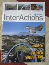 REVUE SOGITEC INTERACTIONS 28 SIMULATION TRAINING RAFALE NH90 MIRAGE 2000 INDIA