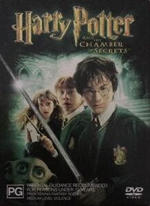 Harry Potter & the Chamber of Secrets DVD 2 disc Dust Jacket Edition