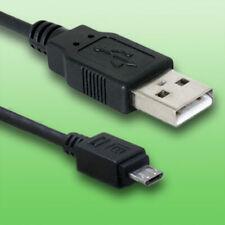 USB Kabel für Olympus TG-6 Digitalkamera - Datenkabel - Länge 2m - vergoldet