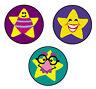 800 Silly Stars teacher reward superSpots mini school stickers