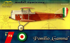 POMILIO GAMMA - WW I ITALIAN FIGHTER (REGIA AERONAUTICA MARKINGS) 1/72 ARDPOL