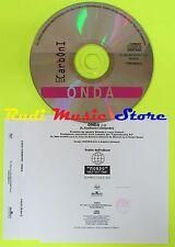 CD Singolo LUCA CARBONI Onda 1996 Italy BMG 74321382012 PROMO  mc dvd (S10)