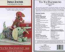 YoYo Dachshund Indygo Junction Pattern Crafts Quilting NEW