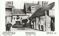 "London Postcard - Old Ealing 11 - The ""Three Pigeons"" - High Street 1904  V729"