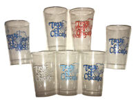 Vintage Taste Of Chicago Plastic Cups Lot Of 7