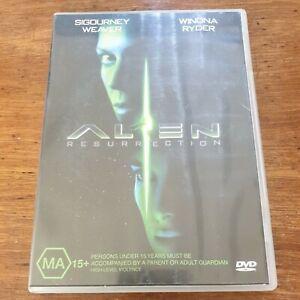 Alien Resurrection DVD R4 Like New! FREE POST