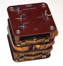 Erg A6203 / Af157 Varnish Dipped Transformer From Instrument Made In England