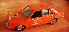 Renault 18 N°1318 Sapeurs pompiers ville de paris Solido   1/43