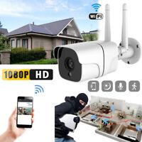 Wireless WIFI 1080P HD IP Camera IR Night Vision CCTV Security System 32GB