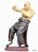 Chinese Shaolin Temple Wuxing Kung Fu Master MudMan Human Of Poses Figurine