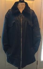 VINTAGE SEARS WORK LEISURE INSULATED DELIVERY COAT JACKET  SIZE XXXL BIG & TALL