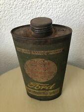 More details for original ford essolube oil can