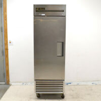 True T-23 Reach-In Single-Door Stainless Steel Commercial Refrigerator Cooler
