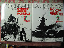 Philippe Masson : Dictionnaire de la seconde guerre mondiale ( 2 volumes )