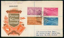India 1951 Postage Centenary Set First Day Cover