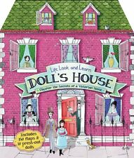 Lift, Look, Learn DOLL'S HOUSE (hc) Over 150 Flaps &10 dolls by Jemima Pipe NEW