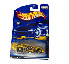 2001 Hot Wheels Extreme Sports Series 4/4 Funny Car Yellow w 5sp Collector #84