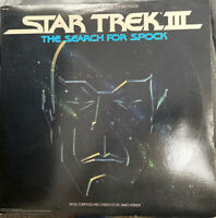STAR TREK III THE SEARCH FOR SPOCK SOUNDTRACK VINYL LP JAMES HORNER GATEFOLD EX