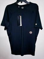 Mens Under Armour Rush Black Short Sleeve Athletic Shirt $50 New NWT Size Large