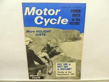 Aug 1965 Motorcycle Magazine Ariel BSA Triumph Mike Hailwood Bonneville L10748