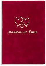 Stammbuch der Familie -Trio-,  Stammbücher, Familienbuch, rot, Familienstammbuch