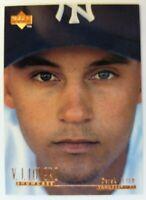 1996 96 Upper Deck V.J. Lovero Showcase Derek Jeter Rookie RC #VJ3, Yankees